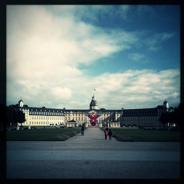 Schloss Karlsruhe #Hipstamatic #Wonder #W40
