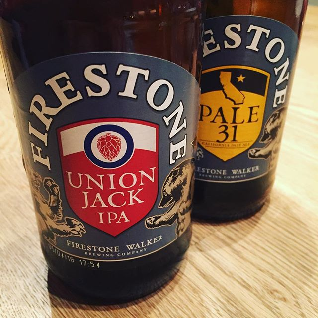 Firestone. Eines besser als das andere. #bier Danke an @ulinstagram