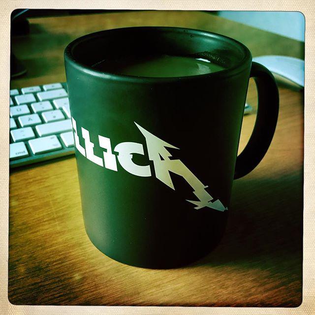 Glitch Mug ?? #TGIF #metallica