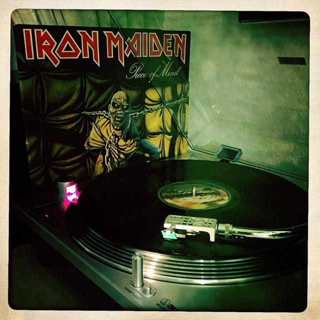 Eddie #nowspinning #vinyl #ironmaiden