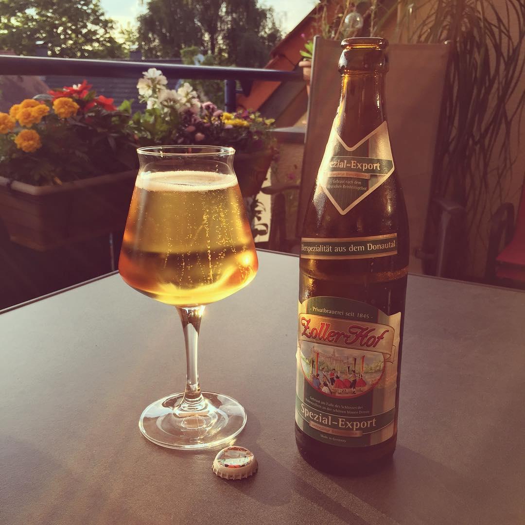 Zoller-Hof Spezial-Export. Ganz gut es ist. #bier
