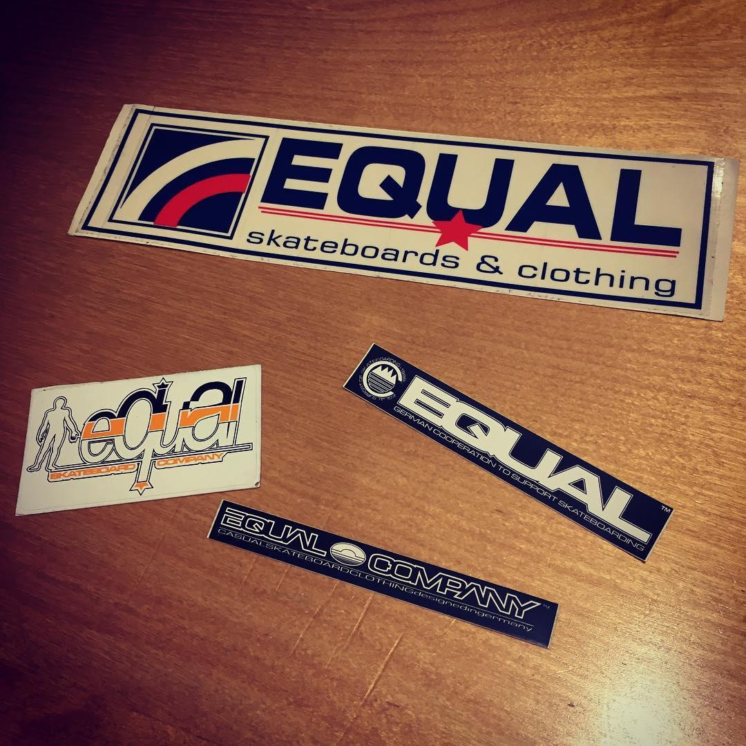 EQUAL #sticker #schonewigher #habnochwelche @equalathletics @unikatstorekarlsruhe 😜