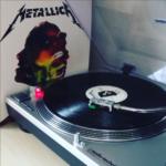 Auch flott. 🤘🏻@ulinstagram #vinyl #nowspinning #metallica #spitoutthebone #stopdreaming #terminateforme