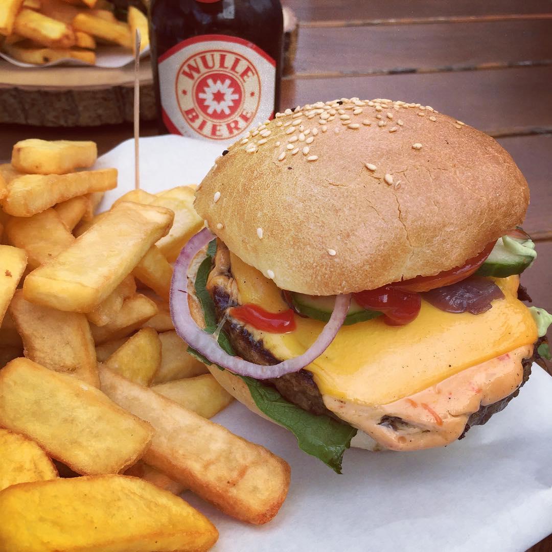 Triple B Burger. Sehr fein.