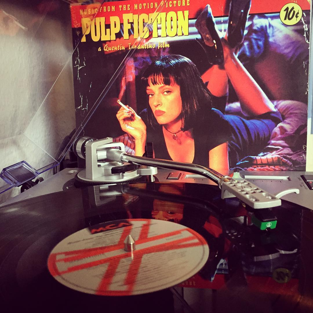 Royal With Cheese. #nowspining #vinyl #soundtrack #pulpfiction