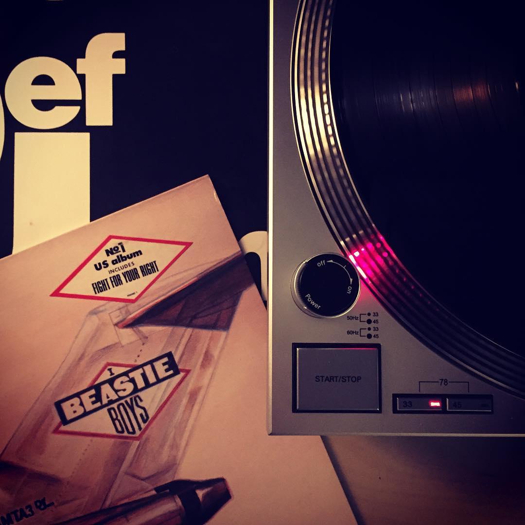 Licensed to ill. 😎#nowspinning #beastieboys #defjamrecordings #vinyl #schallplatte