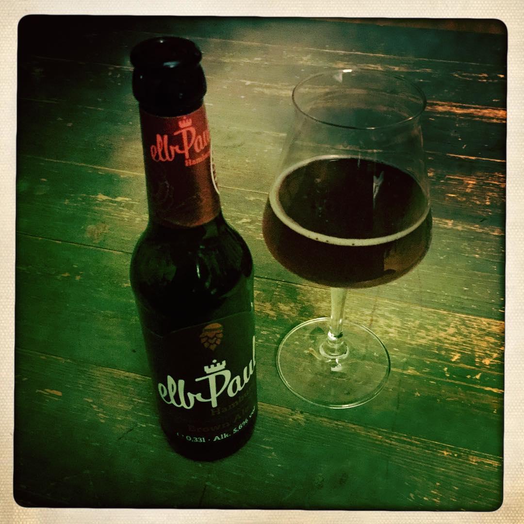 elbPaul Brown Ale. Läuft. #bier