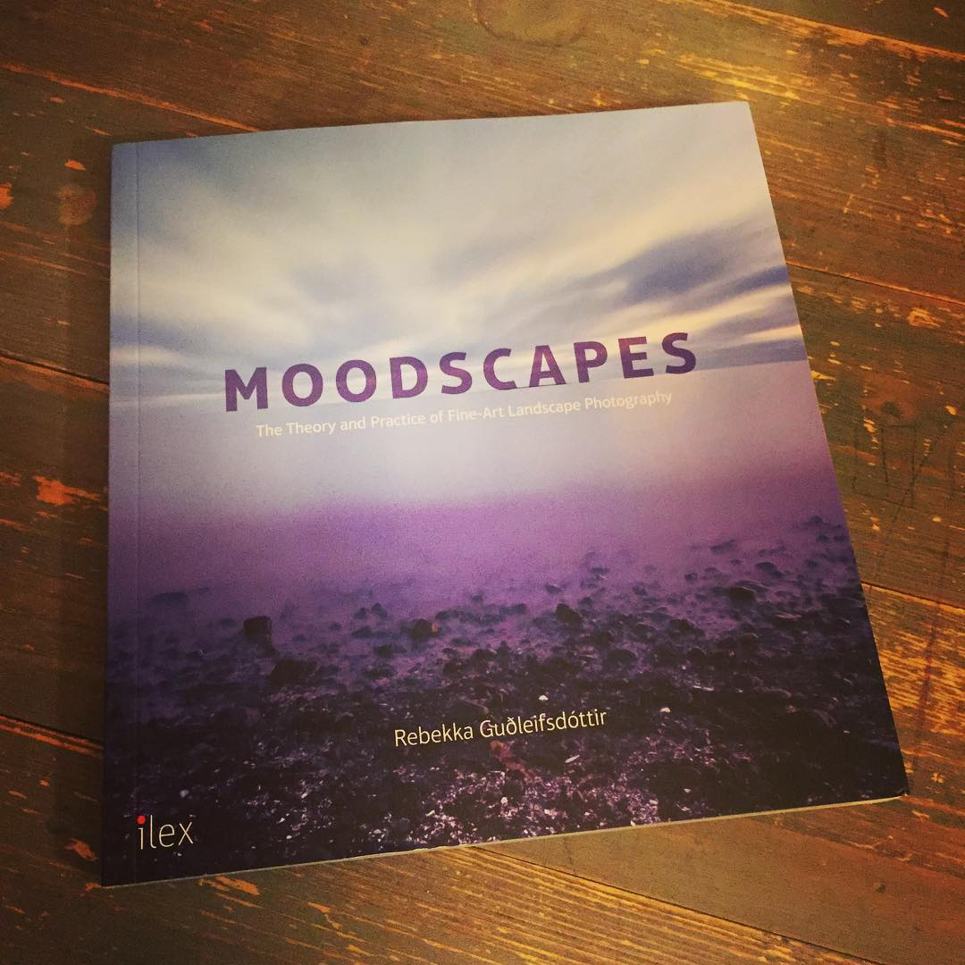 """My brother in law gave me this wonderful book """"Moodscapes"""" by @rebekkagudleifs 🎄🎁 #photography #iceland"""