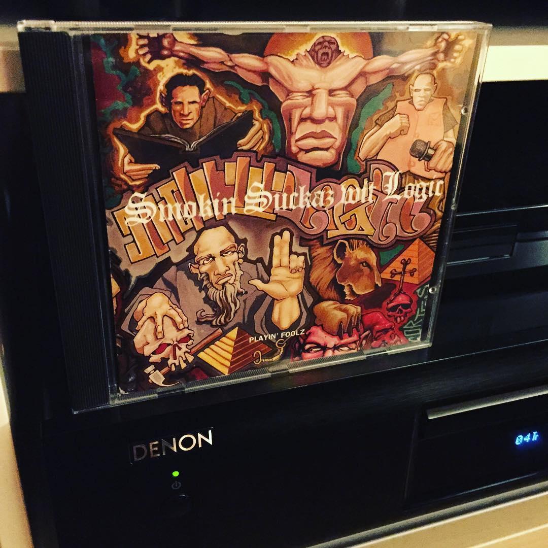 Smokin Suckaz wit Logic / Playin' Foolz – Hätte ich gern auf Vinyl. Absolut geniales Album #cd #nowspinning #1993