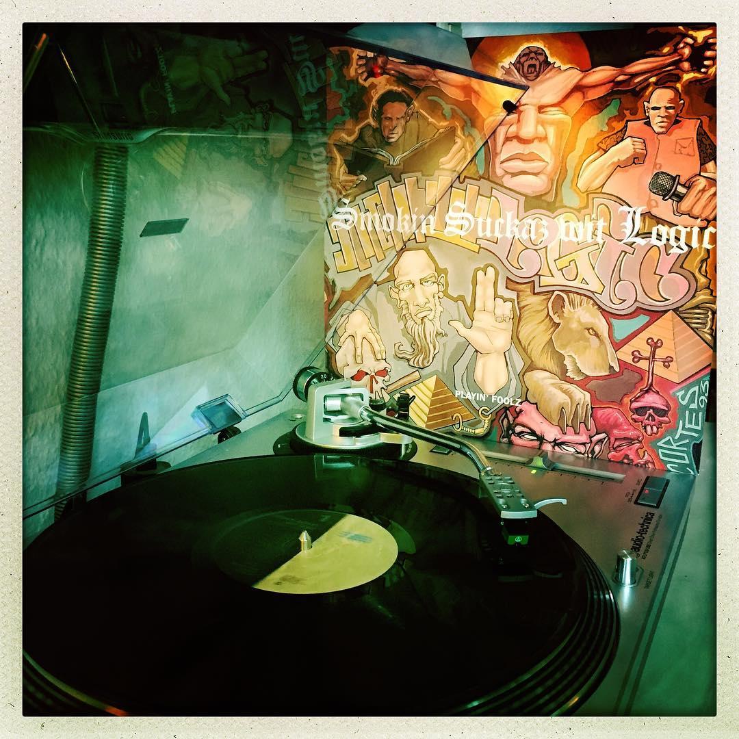 Smokin Suckaz wit Logic / Playin' Foolz – jetzt auf #vinyl 🤘🏻😎 #nowspinning #schallplatte #muthamadeem #hiphop #newyork #1993