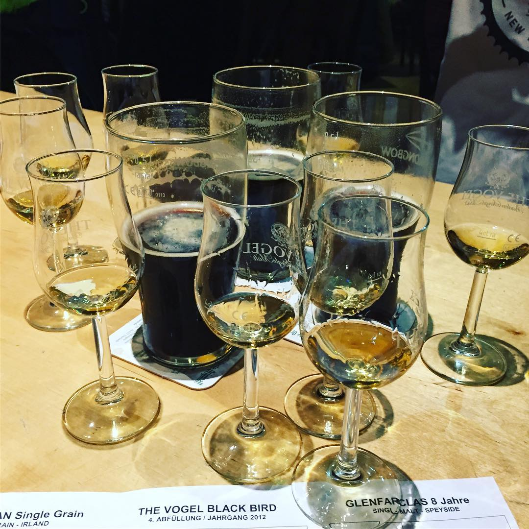 Whisky Probe im Vogelbräu. 😋🥃
