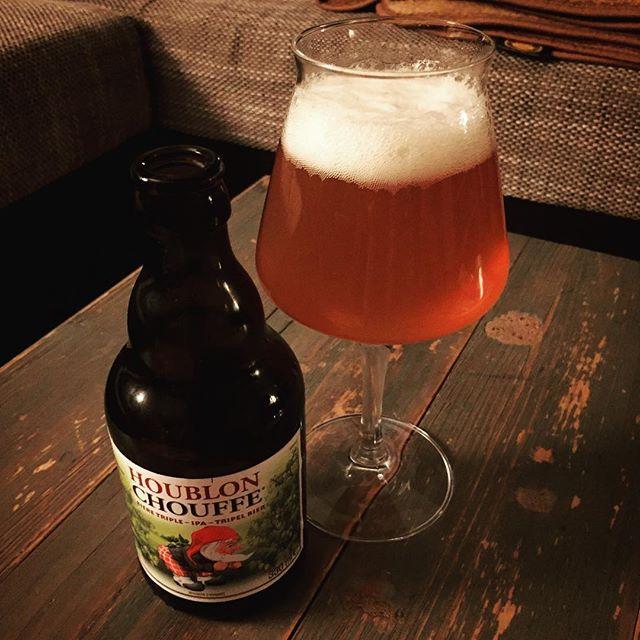 Freunde der Nacht, das Houblon Chouffe ist mal ein spitzenmäßiges IPA. #bier #ipa #triplebeer