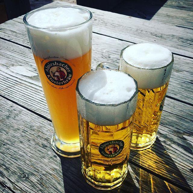 Läuft. #bier #alpirsbacher