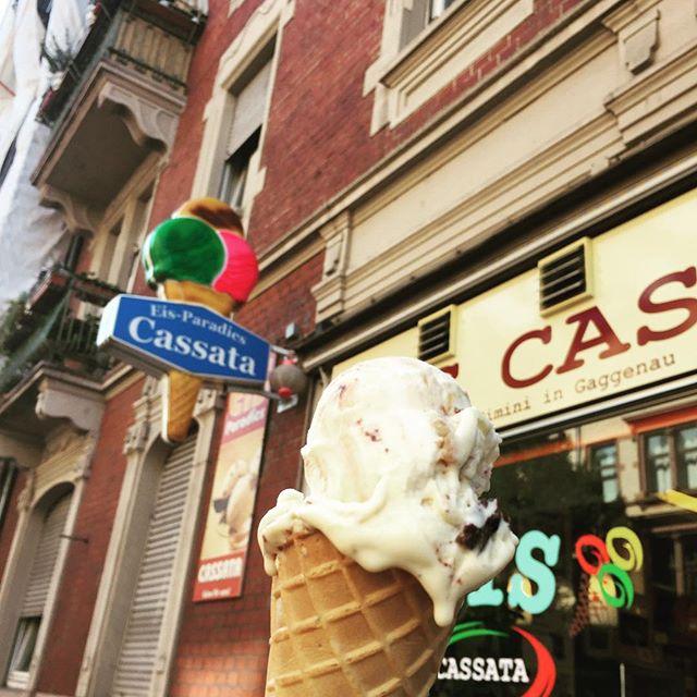 Bestes Eis der Stadt. 😋🍦#endlichsommer