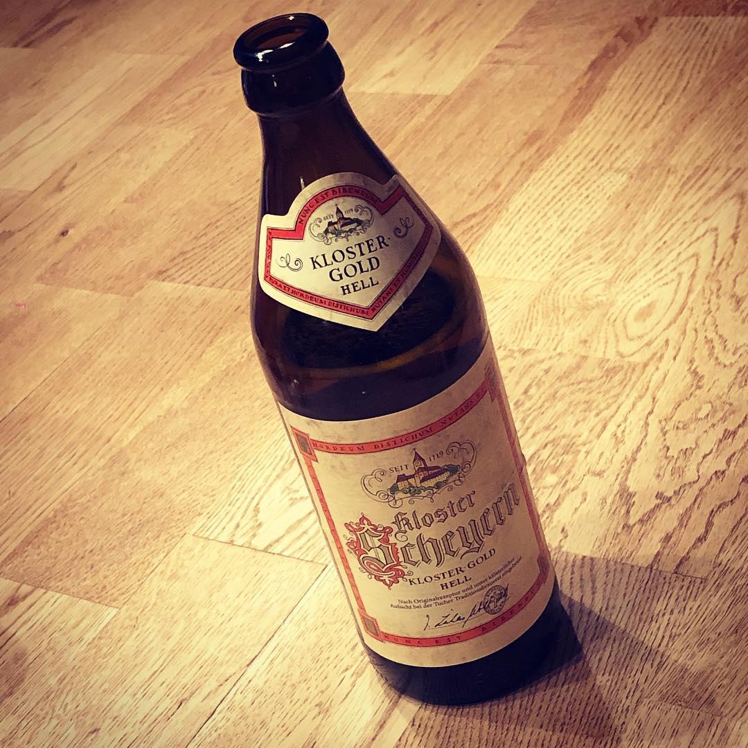 Empfehlung des Tages: Kloster Scheyern Kloster-Gold Hell. Sehr gutes Helles. Aufgetan von @ulinstagram #bier