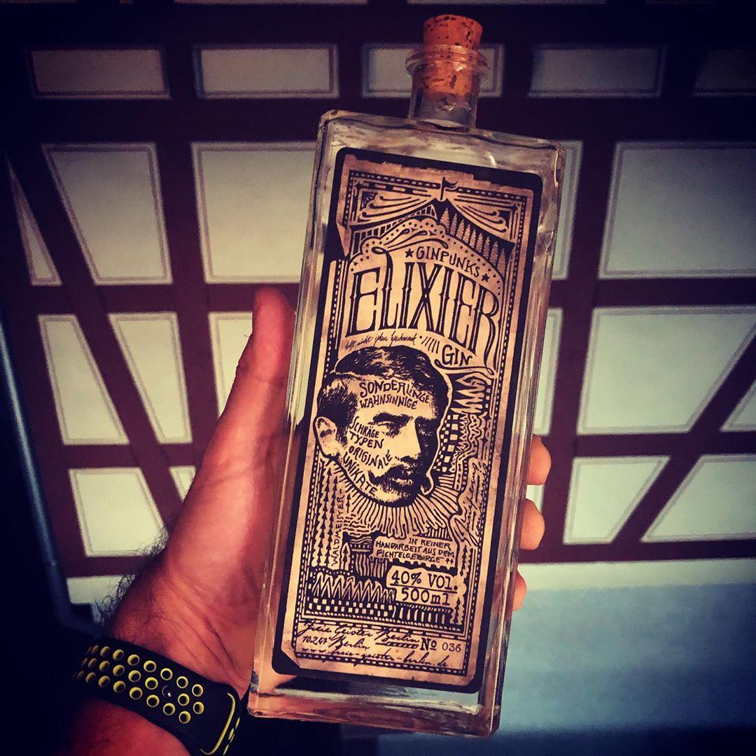 Hab selten so einen guten Gin getrunken. #ginpunks #gin #fichtelgebirge #elixier
