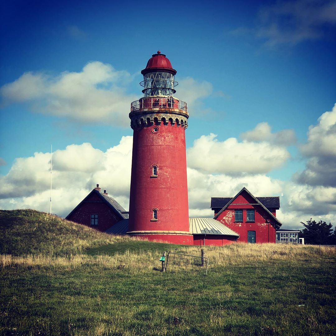 Bovbjerg Fyr #denmark🇩🇰 #denmark #danmark #lemvig #lighthouse #bovbjerg #bovbjergfyr #northsea #westjuetland #fyr