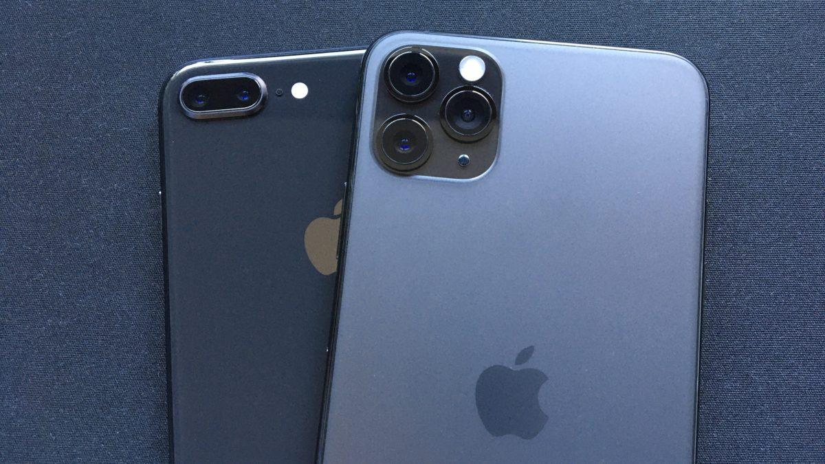 iPhone 8 Plus & iPhone 11 Pro Max